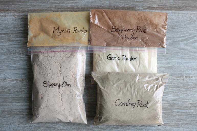 Wound Paste Herbs